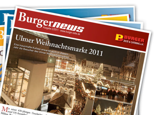 Burger Zelte&Catering – Kundennews