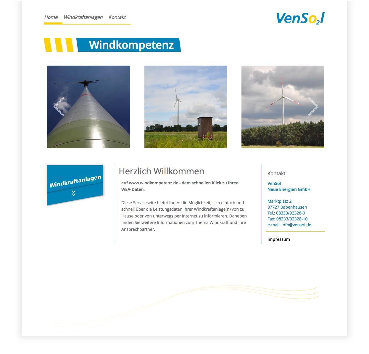 VenSol – Windkompetenz Infoplattform