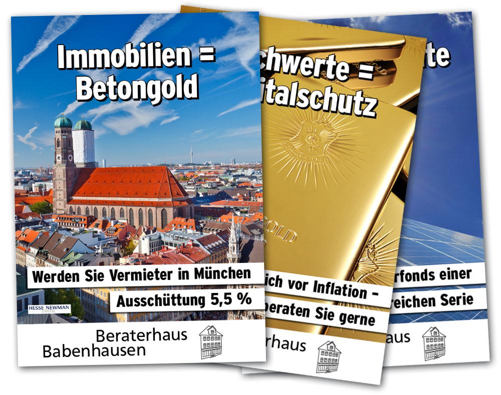 Beraterhaus Babenhausen – Plakate