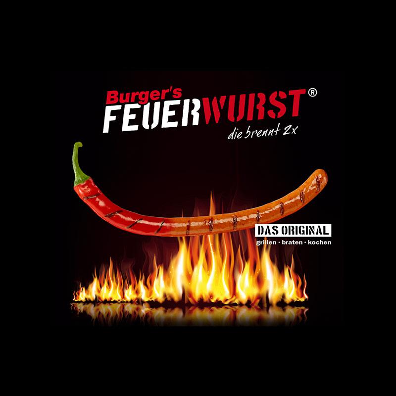 Burger's Feuerwurst
