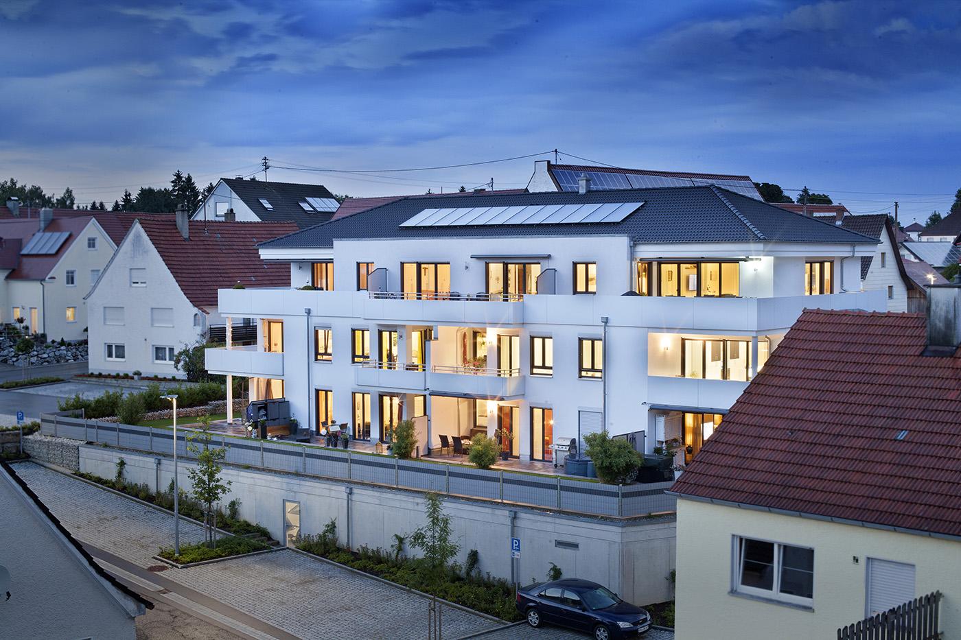 Fotografie Mehrfamilienhaus in Babenhausen